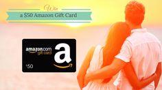 $50 Amazon Gift Card Giveaway