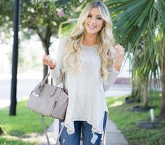 Laced to Your Side Tunic || The Mint Julep Boutique
