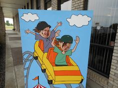 Roller Coaster Photo Booth