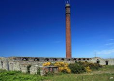 The chimney stack at the Brickworks