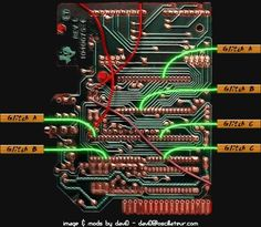 Speak And Spell Circuit Bend Pitch Diagram DIY Music Electronics - Circuit diagram math