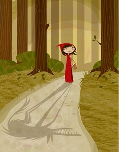 Krista Huot #RedRidingHood ... The wolf in sheep's clothing