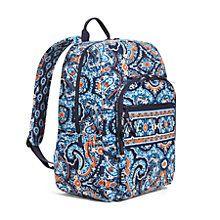 Campus Backpack in Ziggy Zinnia | Vera Bradley