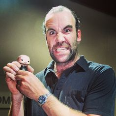 Rory McCann (#Sandor Clegane from #gameofthrones)  source: http://instagram.com/gameofthrones