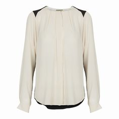 Black/white shirt, By Malene Birger