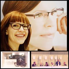 7d8dc0785c Lisa at  VisionExpo and fantastic CFDA panel with the icons of eyewear  design hosted by