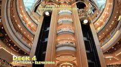 Enchantment of the Seas FULLY GUIDED SHIP TOUR 2015 Want to go with Zoey to create new memories.