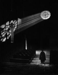 Interno di chiesa, Umbria, Italy 1954, Mario De Biasi. Italian (1923 - 2013)