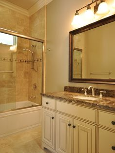 Tub Shower Combo Design, Pictures, Remodel, Decor and Ideas - page 19
