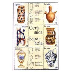 http://www.filatelialopez.com/289196-artesania-espanola-ceramica-p-862.html  2891/96 Artesanía española. Cerámica, Tienda Numismatica y Filatelia Lopez, compra venta de monedas oro y plata, sellos españa, accesorios Leuchtturm