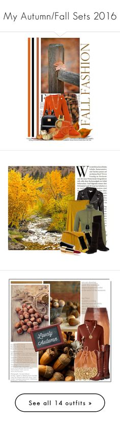 """""""My Autumn/Fall Sets 2016"""" by queenrachietemplateaddict ❤ liked on Polyvore featuring Faith Connexion, Vanessa Bruno, Michael Kors, Clarks, Gorjana, Grandin Road, prAna, French Connection, Emanuel Ungaro and Jérôme Dreyfuss"""