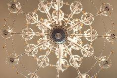 """Atelier """"rosenGarten"""" Chandelier, Ceiling Lights, Flowers, Home Decor, Atelier, Roses Garden, Crystals, Homemade Home Decor, Candelabra"""