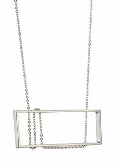 Mackintosh Necklace in Sterling Silver