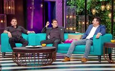 Karan With Koffee 16 Rapid Fire Answers By Salman-Arbaaz-Sohail fun episode with sass flying across the room