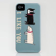 I Like You. iPhone Case