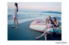 Valentino SS15 campaign. photographed by: Michal Pudelka