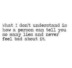 Compulsive liar... I've been asking