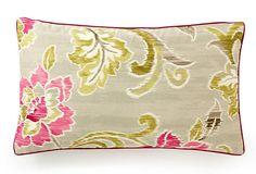Claire 12x20 Pillow, Fuchsia on OneKingsLane.com