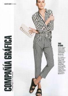 51657d1a9bdc Arizona model at Marie Claire magazine. Birkenstock España