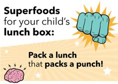 Food for health School Meal, Back To School Lunch Ideas, Pli, Superfoods, Your Child, Meal Planning, Lunch Box, Healthy Eating, Healthy Recipes
