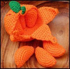 Peelable Orange Amigurumi
