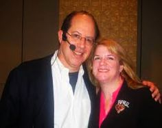 David Garfinkel, Sales Copy Expert, with Dating and Relationship Expert April Braswell at Kevin Hogan's Influence Boot Camp 2013
