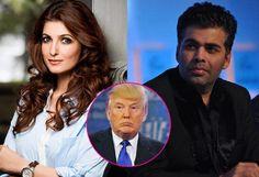 ما قاله نجوم السينما الهندية حول انتخاب ترامب رئيسا لأميركا