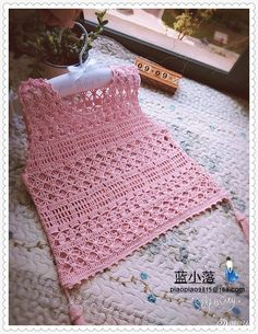 Best 11 Items similar to Crochet sleeveless blouse on Etsy – SkillOfKing. Crochet Crop Top, Crochet Blouse, Cotton Crochet, Crochet Lace, Crochet Poncho Patterns, Baby Knitting Patterns, Crochet Cocoon, Crochet Baby Clothes, Crochet Woman