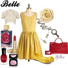 Belle Inspired Summer, created by dancngbrett on Polyvore