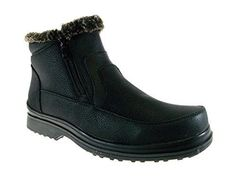New Men's Rusi 02 Fur Lined Winter Snow Boots