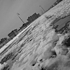 LBNY Boardwalk with Snow                              8082