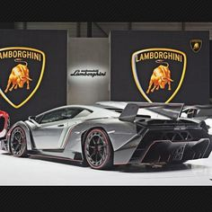 """Gray is the new black"" Lamborghini Veneno!! (accents of color - red/gold)"