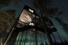 Mega cool treehouse