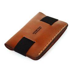 Strap Wallet in Brown