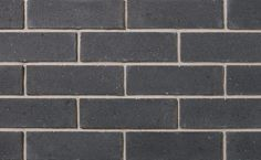 Contempo Onyx PRP by Brampton Brick. Offered in four elemental colors, Contempo brings elegance to modern design, courses with PRP Brick, and and combines easily with Finesse or the gracefully textured Granada for fresh sophistication. Granada, Design Trends, Modern Design, Brick, Texture, Fresh, Stone, Elegant, Colors