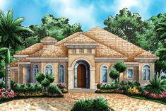 House Plan 1018-00036 - Mediterranean Plan: 2,746 Square Feet, 3-4 Bedrooms, 3 Bathrooms
