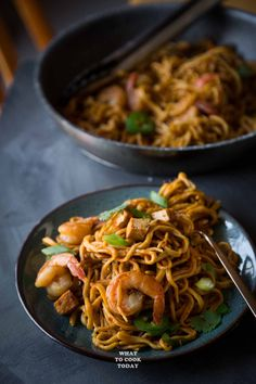 Easy Seafood Mee Goreng/ Seafood Fried Noodles
