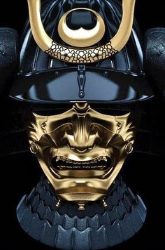 According to George Lucas, the samurai warrior's helmet and face/neck plate design were the inspiration for Darth Vadar's mask and helmet.