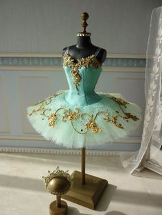 A miniature tutu handmade/ Miniature Ballet Costume/'Don Quixote' The Queen of the Dryads Ballerina Tutu, Ballet Tutu, Ballet Dancers, Ballet Clothes, Ballet Photography, Ballet Beautiful, Dance Pictures, Dance Art, Dance Outfits