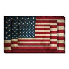 Libra, American Flag Wall Art, American Flag Bedroom, American Art, American History, Police, Wall Art Prints, Canvas Prints, Canvas Fabric