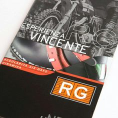 Immagine opuscolo RG. Graphic Design by Holbein & Partners SRL Italy. #opuscoli #design #brochure