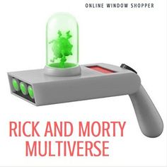 Window Shopper, Rick And Morty, Awesome, Soap Bubbles, Be Awesome