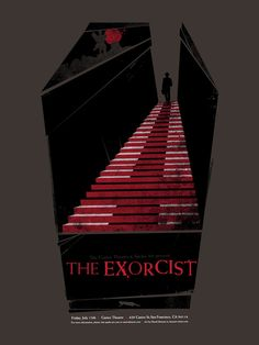 Alternative Movie Poster for The Exorcist by David Moscati #movie #poster #graphic #design #film #movie #poster #horror