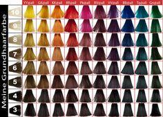 Elumen Color Chart @ flexohair.com.