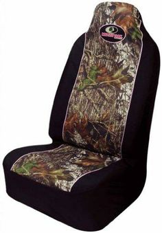 Mossy Oak Infinity Camo Pink Car Truck SUV Universal-fit Pull Over Bucket Seat Covers - PAIR Bright Mossy Oak Camouflage design. Easy stretchable fits most high or low back bucket seats with a detachable or built-in headrest. Protects vehicle's seat against spills, stains, dirt and any debris. Universal-fit. Unit of measure - 1 pair.  #Mossy_Oak #Automotive_Parts_and_Accessories