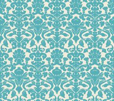 damask wallpaper by ~insurrectionx on deviantART..making my library baskets with this pattern...