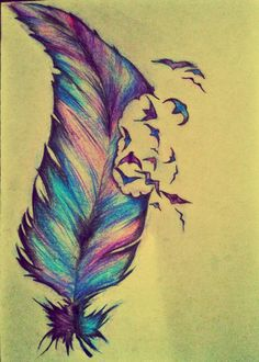 feather colours  <3