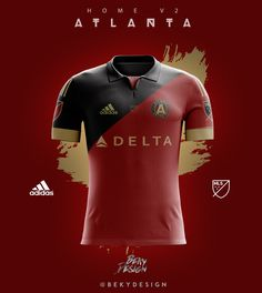 Atlanta United FC - Jerseys on Behance
