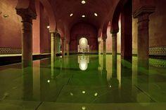 Like an Arabian princess at the Hammam Granada in Plaza Nueva Click to read the full article