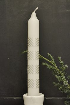 Simple Washi Advent Candle Advent Candles, Washi, Create, Simple, Projects, Log Projects, Blue Prints